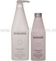 Nature Collection Supper Charge Shampoo 1000ml and conditioner 300ml(anti-frizz smoothing for very dry/unruly hair)
