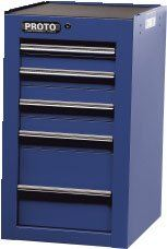 PROTO 450HS SIDE CABINET - 5 DRAWER Side Cabinets Tool Storage