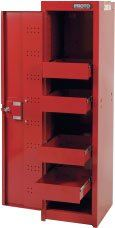 PROTO 440SS LOCKER CABINET - 4 DRAWER Side Cabinets Tool Storage