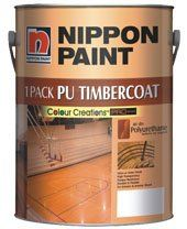 1 Pack PU TimberCoat (Satin) Nippon Paint