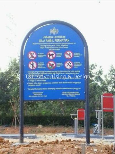 Tmn Rekreasi Signage
