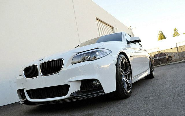 Bmw F10 M-sport Performance front lips