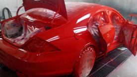 Mercedes Benz Car Spray Service