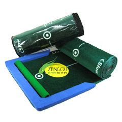 Track Putting Mat