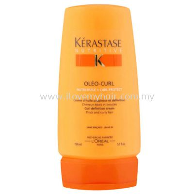 Kerastase Olea-Curl Cream (Cream that provides supplenes and definition to thick and cury hair) 150ml