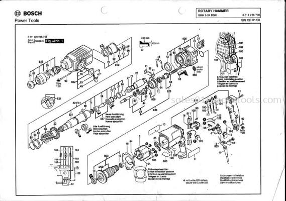 GBH2-24DSR ROTARY HAMMER
