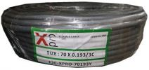 F3C-XPRO-70193 3 Core Flexible Cable VDE and Flexible Cable