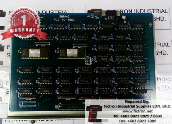 PC2 4C-1052 SHINKO Control PCB Repair Service in Malaysia