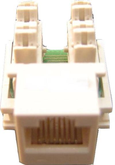 RJ45 UTP Modular Jack CAT5E  DCOM