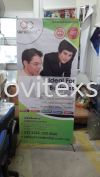 X stand bunting jb.easy  to carry with cover bag Banner and Bunting / Roll Up Banner / Pop Up System / Mini Flat