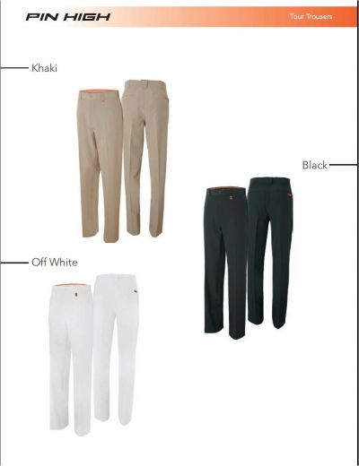 Pin High Tour Trousers