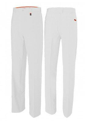 Pin High Tour Trousers White