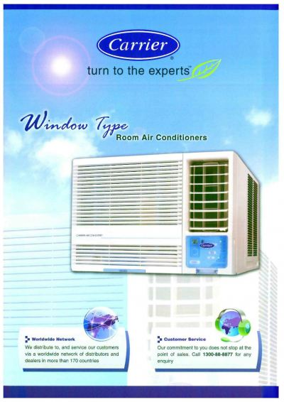 CARRIER 51KW DX WINDOW ROOM AIR-CONDITIONER