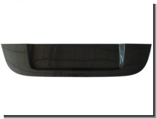 BMW E60 M5 rear number plate cover
