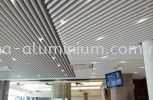 Aluminium and Metal Strip Ceiling