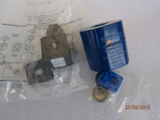 EMERSON ASC2 SOLENOID VALVE COIL