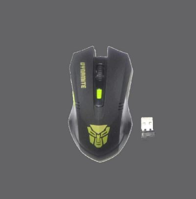 DYNAMITE MEISTER 2.4G WIRELESS MOUSE MODEL W5881 (BLACK)
