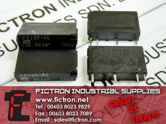 RB105-DE RS Series DC24v FUJI ELECTRIC Relay Supply Malaysia Singapore Thailand Europe & USA