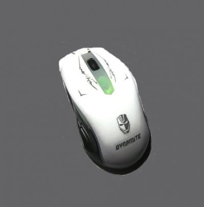 DYNAMITE Fashionable Optical Mouse Model DM 10 (White)