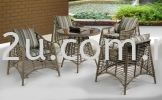 PK-T-6096-TABLE  PK-C-6096-CHAIR Out Door Set Cafe Furniture