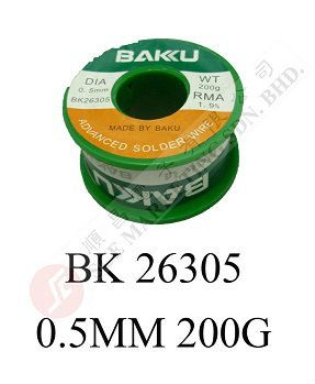 SOLDER WIRE BK26305 0.5MM 200G