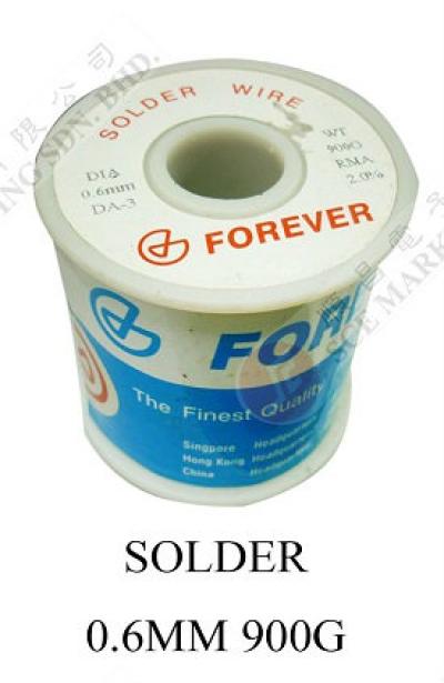SOLDER WIRE 0.6MM 900G