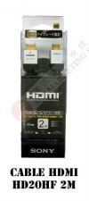 HDMI CABLE HD20HF 2M HDIM CABLE HDMI