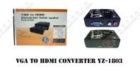 VGA TO HDMI CONVERTER YZ-1803 HDMI CONVERTER HDMI