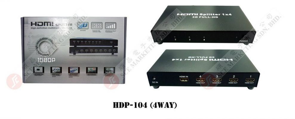 HDMI SELECTOR HDP-104(4WAY)