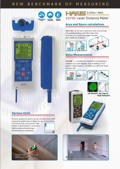 HANS CA740 (0-40M) Laser Distance Meter