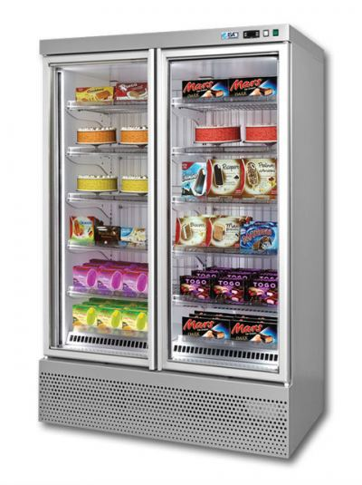 Upright Display Freezer Cabinet ISA Blizzard Series