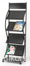 16303-JH-1328 Magazine Rack MAGAZINE & NEWSPAPER RACKS