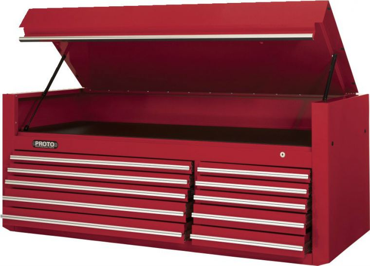 "PROTO® 450HS 66"" TOP CHEST - 10 DRAWER Tool Chests Tool Storage"