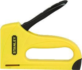 STANLEY - ALL-PLASTIC LIGHT DUTY ABS STAPLE GUN Fastening Tools Stanley