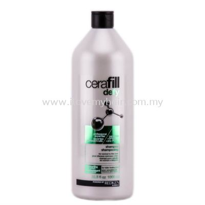 Redken cerafill defy shampoo (for normal to thin hair)1000ml