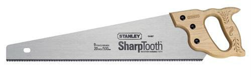"""Stanley - 15-087 - 20"""" Blade Length x 9 Points Per Inch SharpTooth™ Heavy Duty Saw Cutting / Holding Tools Stanley"""