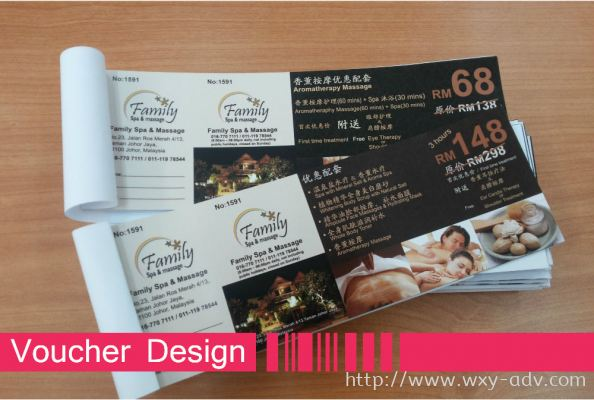 Family Spa & Massage Voucher
