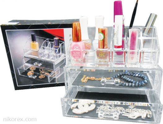 18856-B1914B COSMETIC & 2DRAWER ORGANIZER