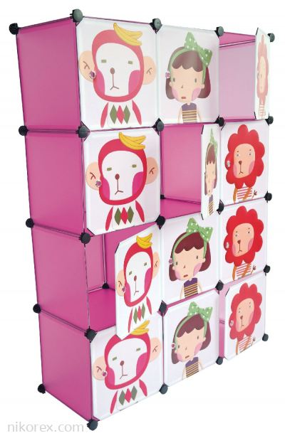 589003 - CUBE RACK YK1001 (12 Compartment)