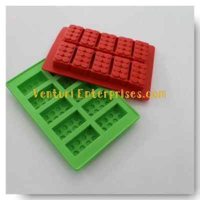 Lego Shape silicon Mould