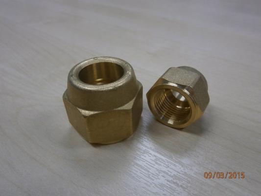 Castel Flare Nut (Brass)