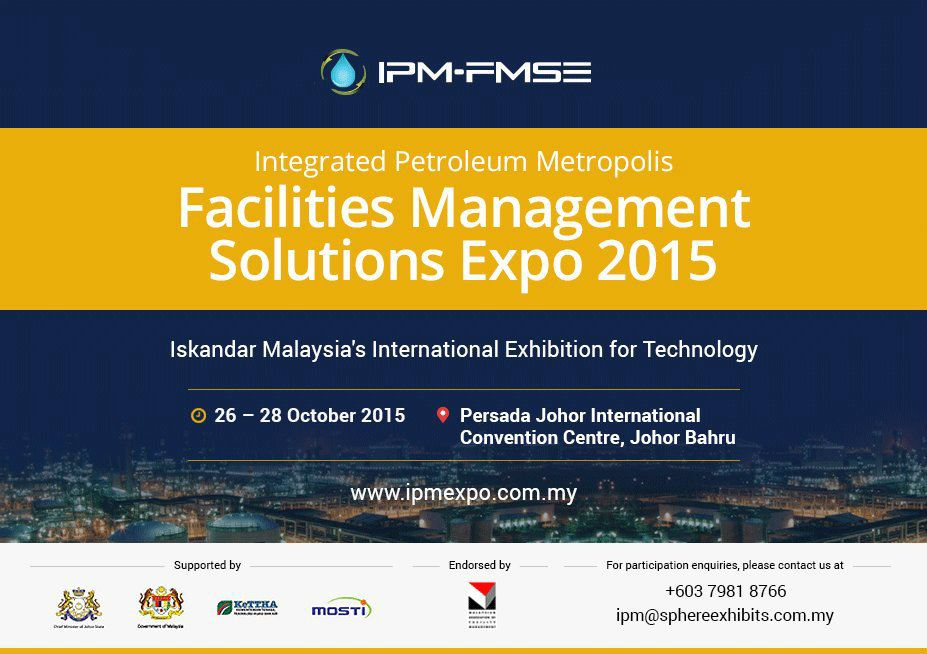 Integrated Petroleum Metropolis Facilities Management Solutions Expo 2015 October 2015 Year 2015 Past Listing