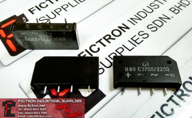 B80C3700-2200 B80C37002200 GI Rectifier Supply Malaysia Singapore Thailand Indonesia Europe