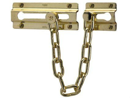 Yale - P1037 Door Chain Door Chains Additional Security Locks