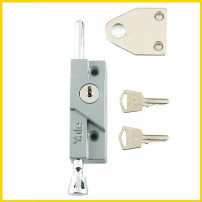 Yale - 8K116 - Multi Purpose Door Bolt Door Bolts Additional Security Locks