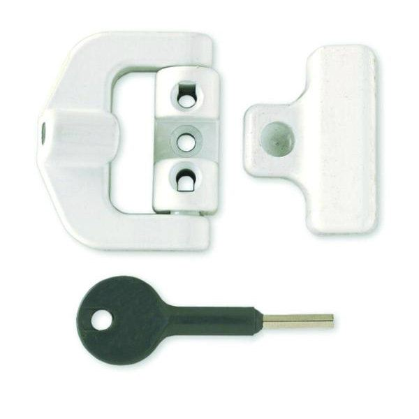 Yale - 8K123 - PVCu Window Lock Window Security Additional Security Locks
