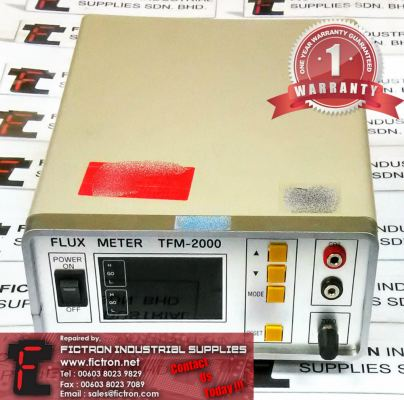 Repair Service in Malaysia - TFM 2000VCRP Flux Meter TOYO MEASURING SYSTEMS Singapore Indonesia