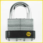 Yale - Y125 - Laminated Padlock Outdoor Padlocks Security Locks