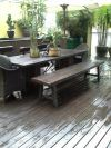 Chengal Decking with Walnut Coating Timber Decking