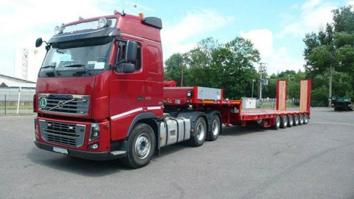 Low Loader Trailer 2 axle - 4 axle